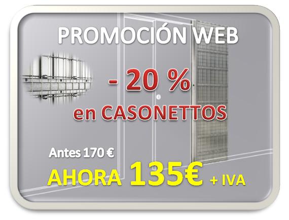 Promoción Cassonettos