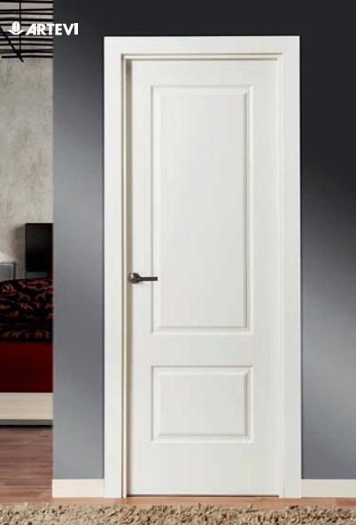 Puertas lacadas baratas artevi maderas hermanos guillen for Puertas de paso baratas