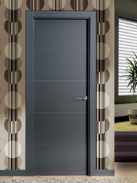Puertas lacadas baratas artevi maderas hermanos guillen for Modelos de puertas de metal para interiores