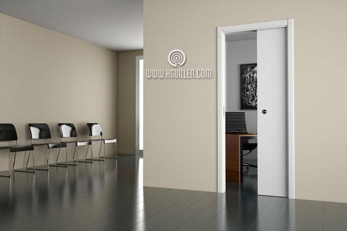 Casoneto dierre para puertas correderas maderas hermanos for Precio instalacion puertas interior
