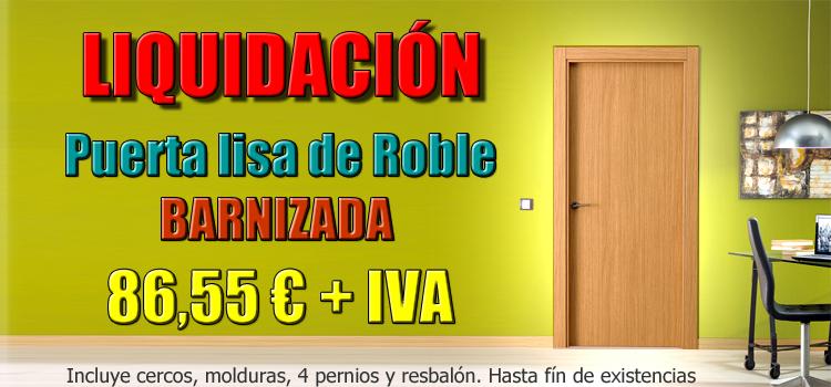 Maderas hermanos guillen puertas baratas maderas for Puertas lisas baratas
