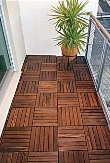 losetas de madera para exterior
