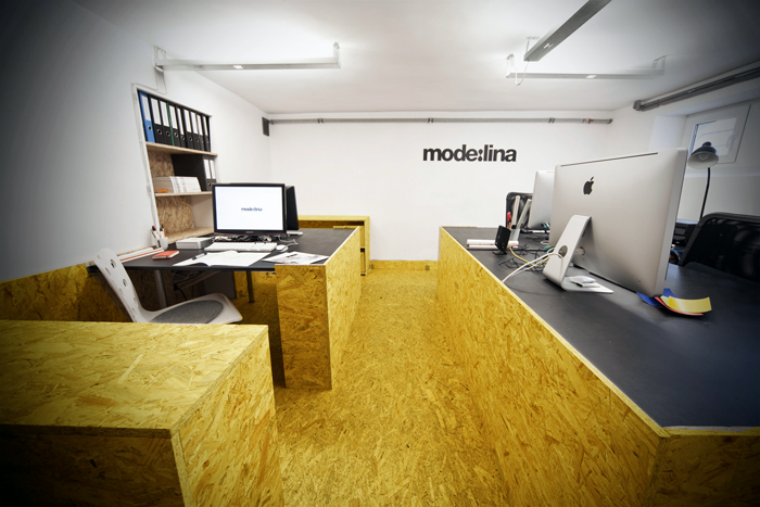 Tableros osb 3 maderas hermanos guillen for Best small office interior design