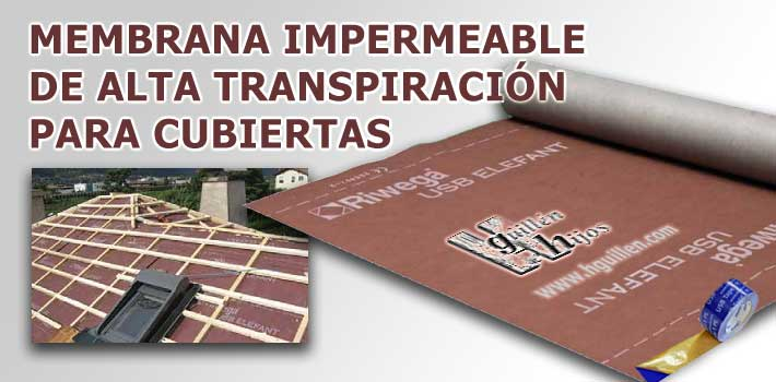 Membranas impermeables y transpirables