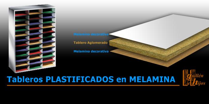Tableros plastificados de melamina maderas hermanos guillen - Tablero fenolico marino ...
