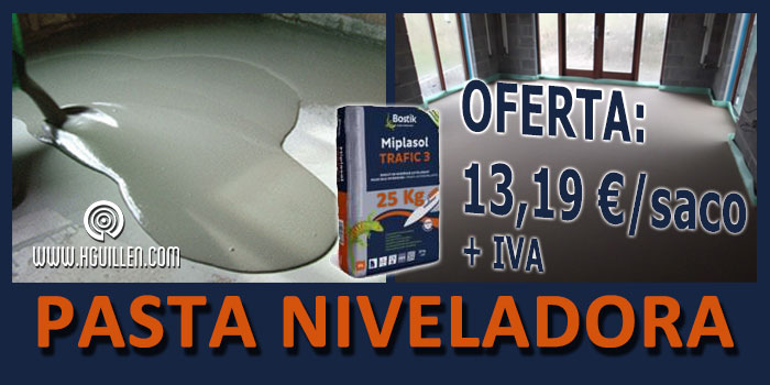 OFERTA PASTA NIVELADORA