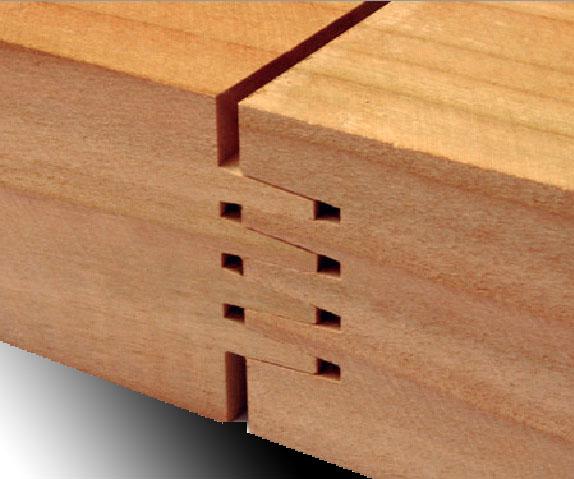 Tablero alistonado de madera maciza maderas hermanos guillen for Tablero madera maciza