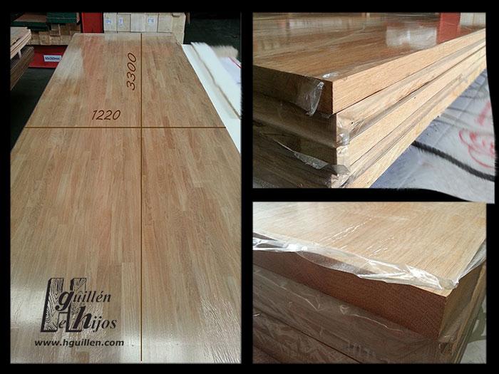 Tableros de madera maciza precio free tableros de madera - Precio madera roble ...