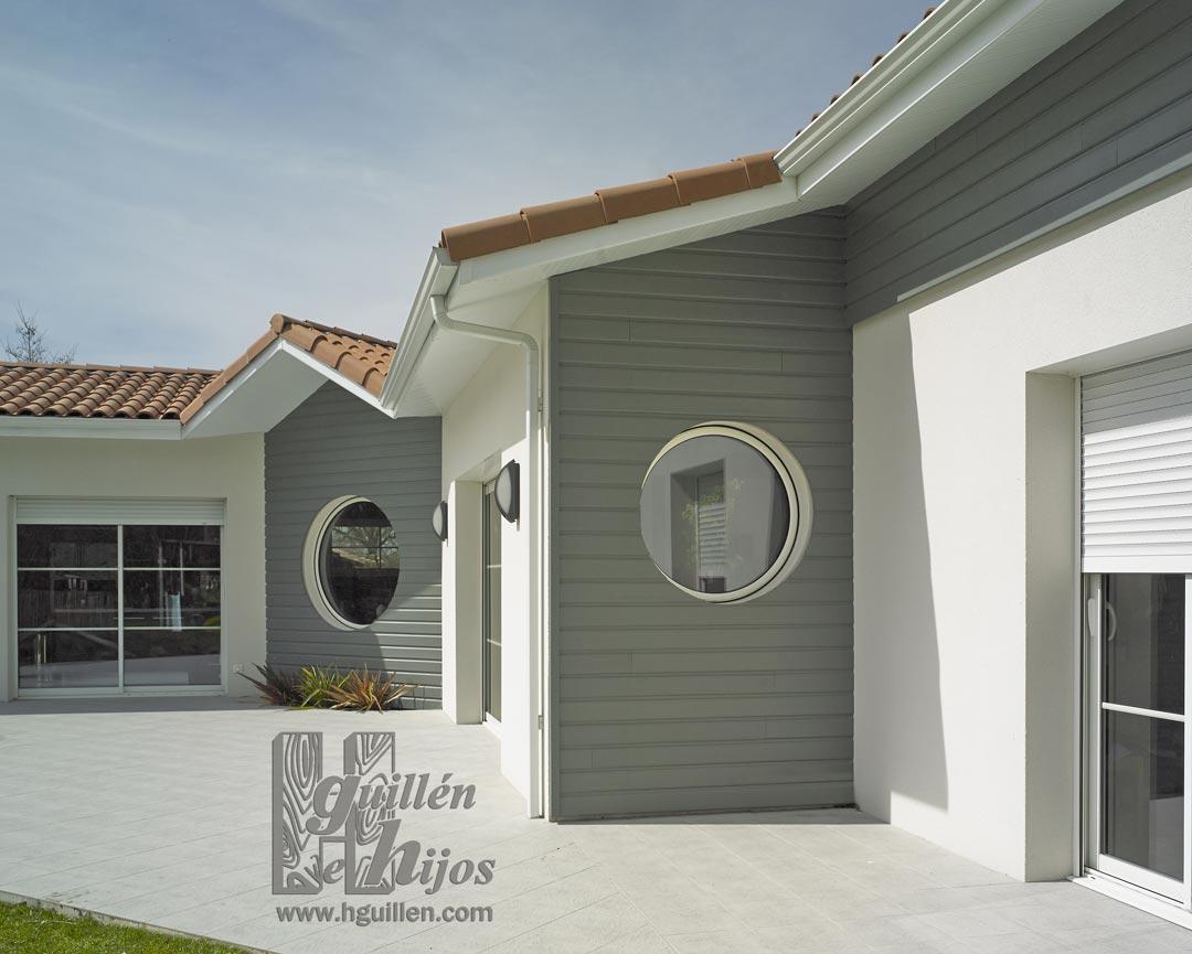 Maderas hermanos guillen nelio color revestimiento de - Colores para pintar fachadas exteriores ...