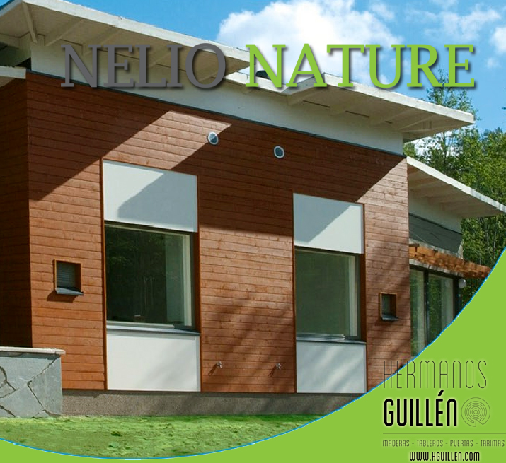 MADERAS HERMANOS GUILLEN - Nelio NATURE. Revestimiento de madera ...
