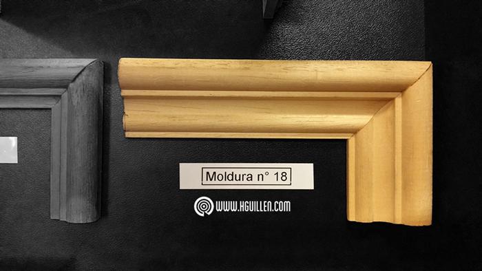 Moldura Samba Nº18 – 35×17 mm