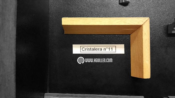 Cristalera Recta Nº11 – 20×17 mm