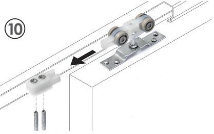 Sistemas de deslizamiento ruedas o poleas de casoneto