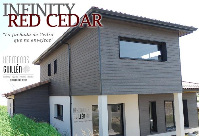 Maderas hermanos guillen infinity revestimiento de madera en cedro para fachadas maderas - Revestimiento fachadas exteriores ...