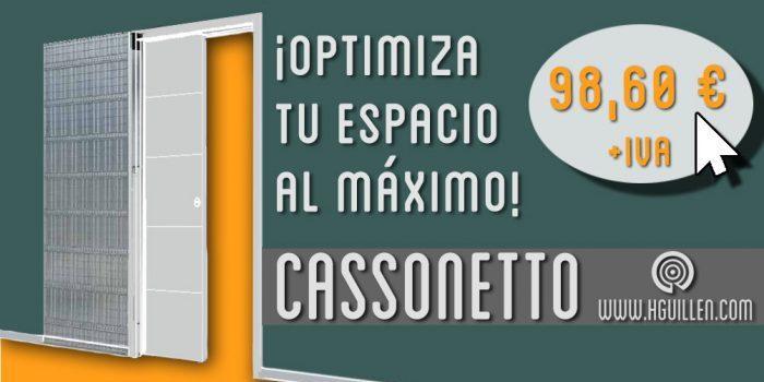 Almacén de casonetos en Madrid