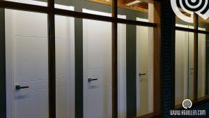 Puertas lacadas exposicion