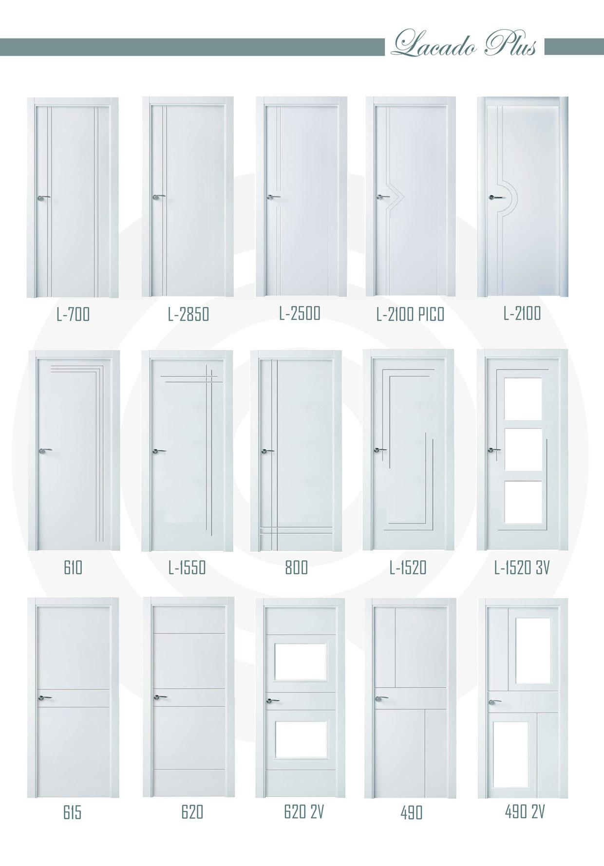 Catalogo puertas lacadas