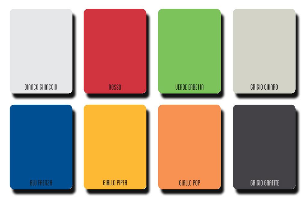 Colores en Stock Tablero compacto fenólico HPL