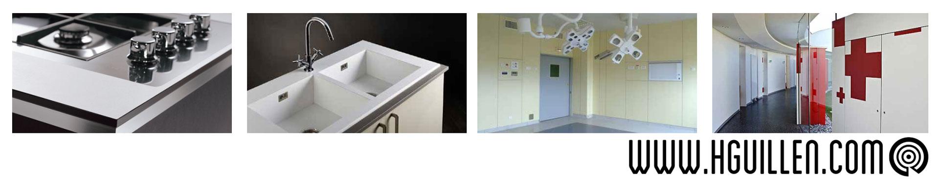 Ambientes tablero compacto fenolico HPL