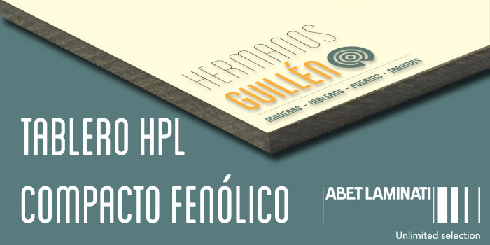 Maderas hermanos guillen tablero hpl compacto fen lico for Tablero fenolico exterior