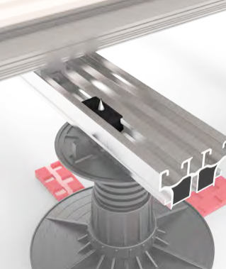 Tarima composite WPC exterior desmontable Magnet. Almacén de Tarimas en Madrid.