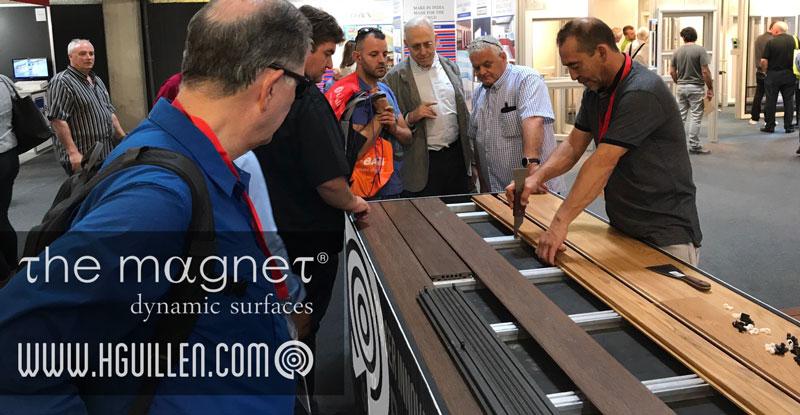 Tarima Exterior composite WPC Magnet Desmontable