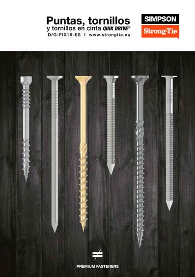 Catalogo tornillos y puntas Simpson Strong-Tie
