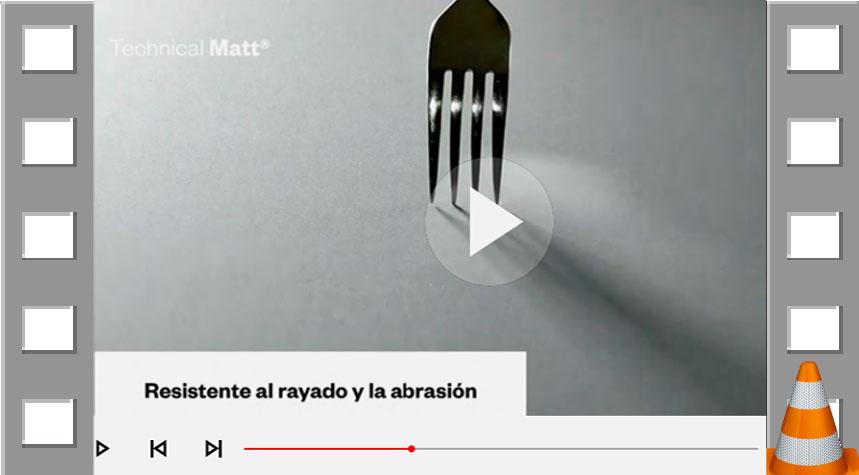 VIDEO - CARACTERÍSTICAS TECHNICAL MATT