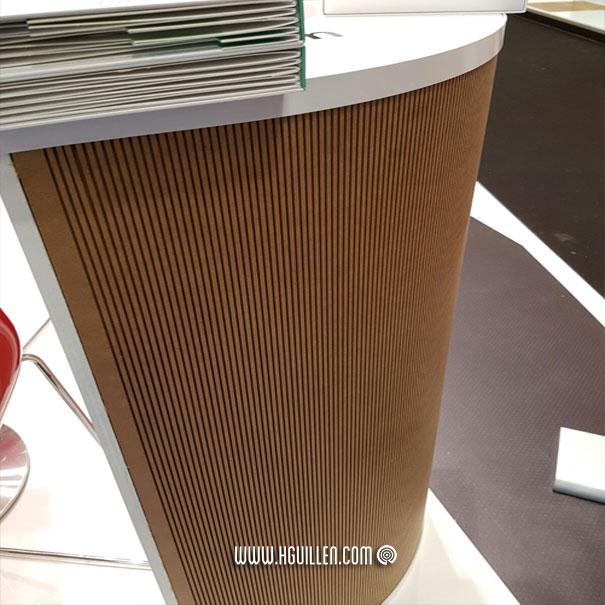 MDF flexible y curvable Fibraform de FINSA