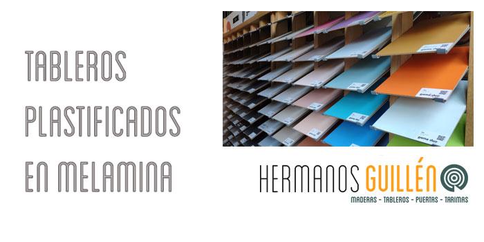 Almacen en Madrid de Tableros plastificados en Melamina