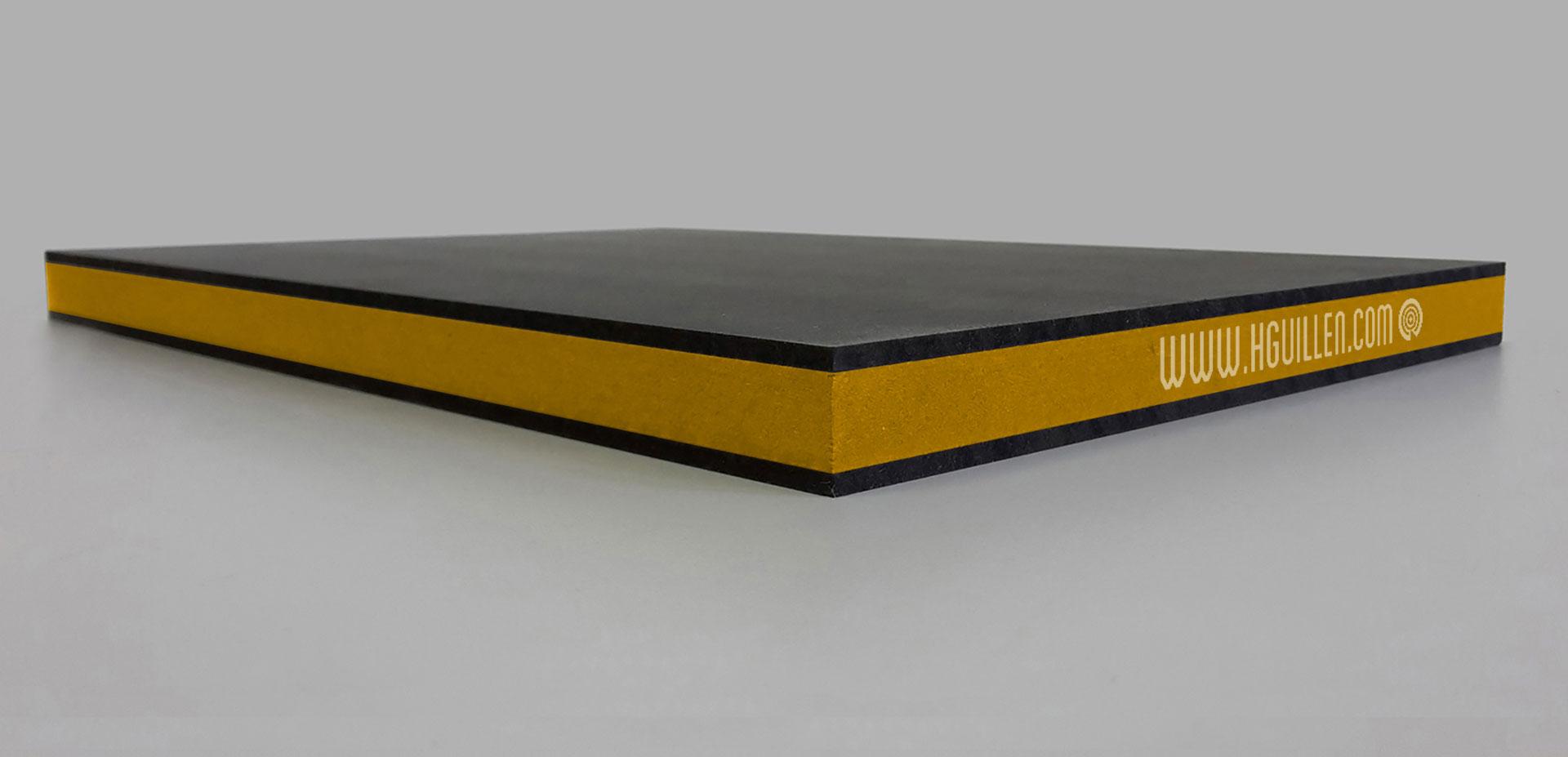 Twincolour Finsa Negro Amarillo Negro