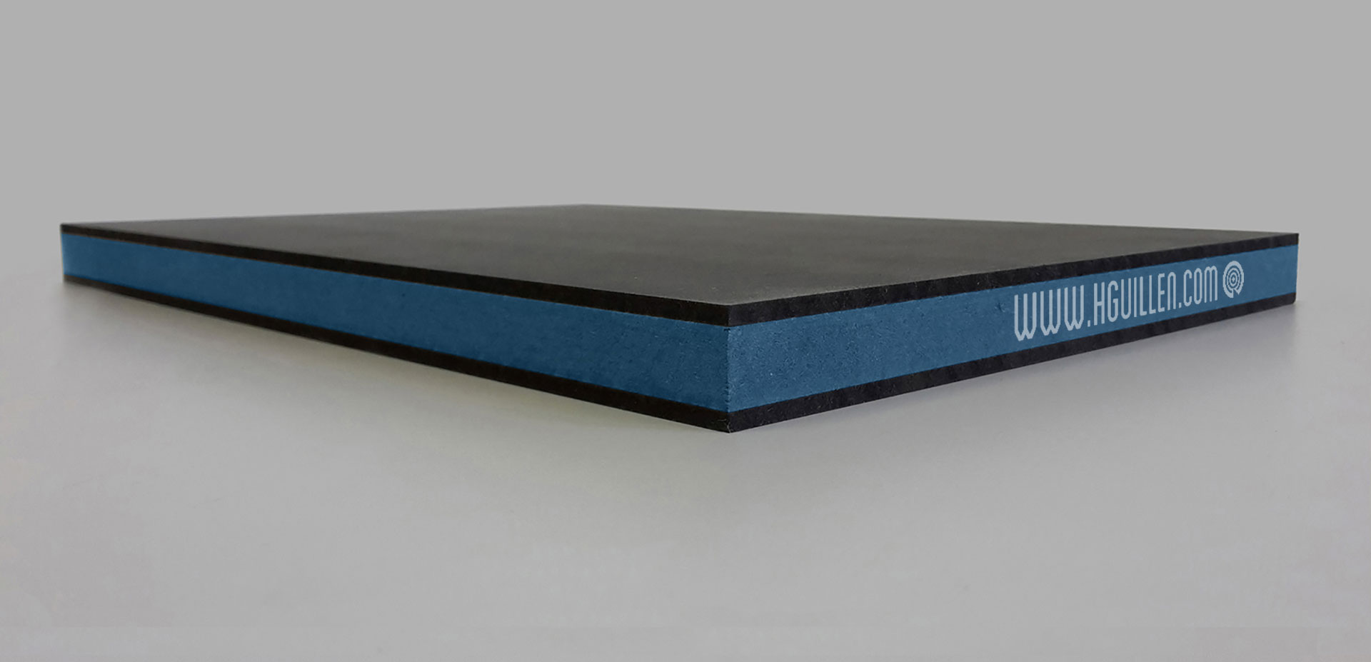 Twincolour Finsa Negro Azul Negro