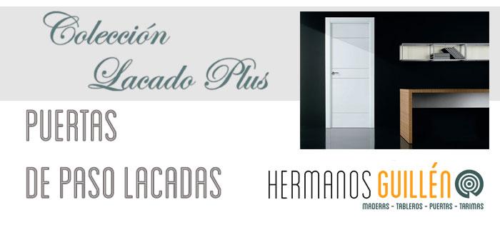 Almacen exposicion puertas lacadas en Madrid