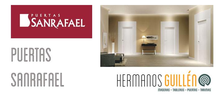 Almacen distribuidor Showroom Exposicion Puertas Sanrafael en Madrid