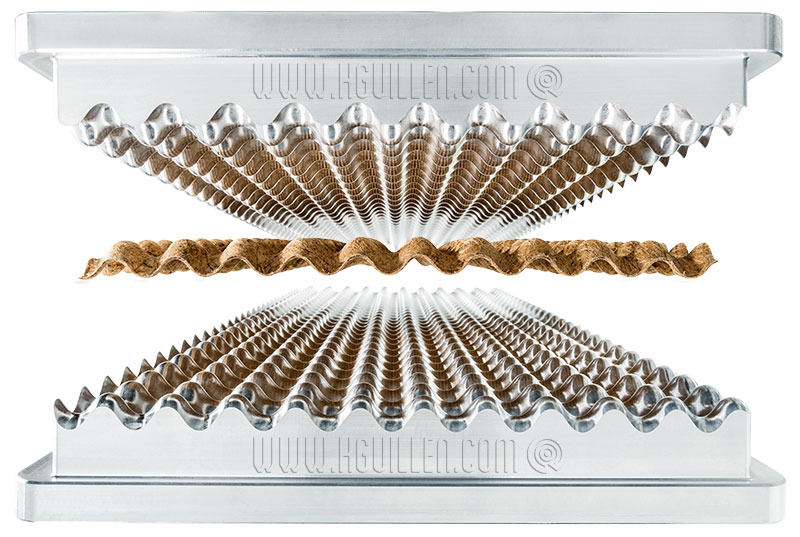 lisocore planchas prensado nucleo 3d